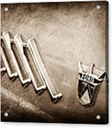 1956 Ford Thunderbird Emblem Acrylic Print