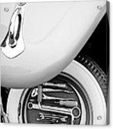 1956 Volkswagen Vw Bug Tool Kit Acrylic Print