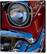 1957 Chevy Bel Air Custom Hot Rod Acrylic Print by David Patterson