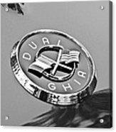 1957 Dual-ghia Convertible Emblem Acrylic Print