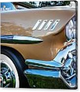 1958 Chevrolet Bel Air Impala Painted  Acrylic Print