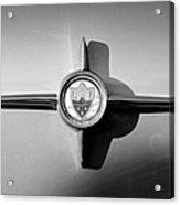 1958 Oldsmobile 98 Emblem Acrylic Print