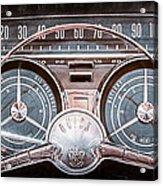 1959 Buick Lesabre Steering Wheel Acrylic Print