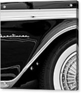 1959 Desoto Adventurer Convertible Wheel Acrylic Print