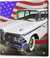 1959 Edsel Ford Ranger Acrylic Print