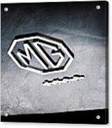 1959 Mg A 1600 Roadster Emblem Acrylic Print