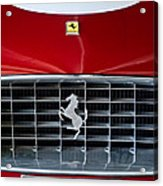 1960 Ferrari 250 Gt Swb Berlinetta Competizione Grille Emblem Acrylic Print