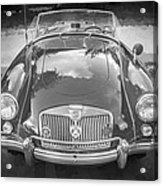 1960 Mga 1600 Convertible Bw Acrylic Print