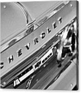 1964 Chevrolet Impala Taillights And Emblems Acrylic Print