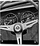 1965 Lotus Elan S2 Steering Wheel Emblem Acrylic Print by Jill Reger