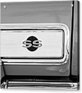 1966 Chevrolet II Ss L79 Taillight Emblem Acrylic Print