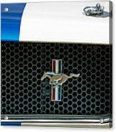 1966 Shelby Gt 350 Grille Emblem Acrylic Print