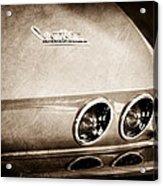 1967 Chevrolet Corvette Taillight Acrylic Print