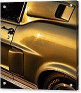 1968 Ford Mustang Shelby Gt 350 Acrylic Print