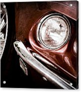 1969 Ford Mustang Mach 1 Front End Acrylic Print