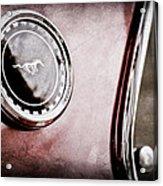 1969 Ford Mustang Mach 1 Side Emblem Acrylic Print