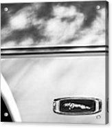 1995 Jaguar Emblem Acrylic Print