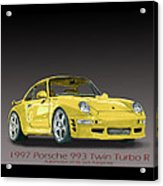 1997 Porsche  993 Twin Turbo Acrylic Print