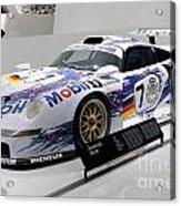 1998 Porsche 911 Gt1 Acrylic Print