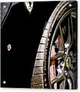 2011 Ferrari 599 Gto Emblem - Wheel Acrylic Print