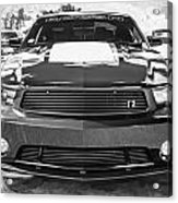 2012 Ford Shelby Mustang Roush Stage 3 Painted Bw   Acrylic Print