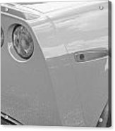 2013 Chevy Corvette Zr1 Bw Acrylic Print