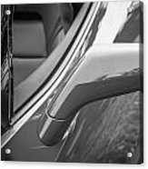 2014 Chevrolet Corvette C7 Bw   Acrylic Print