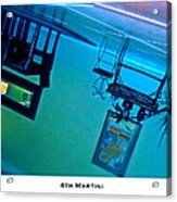 4th Martini Acrylic Print