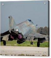 A Hellenic Air Force F-4e Phantom Acrylic Print