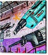 A Man's Tools Acrylic Print