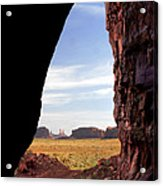 A Monument Valley View Acrylic Print