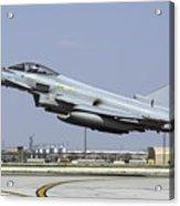 A Royal Air Forcetyphoon Fgr4 Taking Acrylic Print