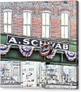 A Schwab Beale Street Memphis Acrylic Print