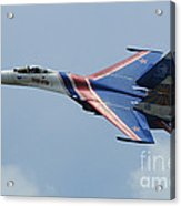 A Sukhoi Su-27 Flanker Of The Russian Acrylic Print