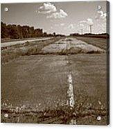 Abandoned Route 66 Acrylic Print