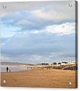 Aberafan Beach Acrylic Print by Tom Gowanlock