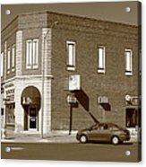 Abilene Kansas - 2nd And Broadway Acrylic Print