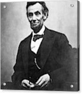 Abraham Lincoln(1809-1865) Acrylic Print