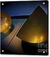 Abstract 3d Shapes  Acrylic Print