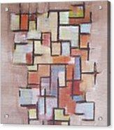 Abstract Line Series  Acrylic Print