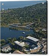 Aerial View Of The New Husky Stadium Acrylic Print