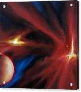 Agamnenon Nebula Acrylic Print