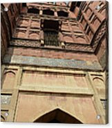 Agra Fort In India Acrylic Print