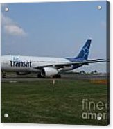 Air Transat Airbus A330 Acrylic Print