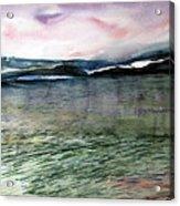 Alaskan Waters Acrylic Print