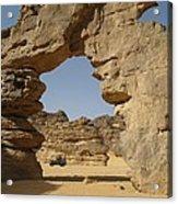 Algeria Desert Acrylic Print