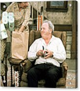 All In The Family  Acrylic Print by Silver Screen