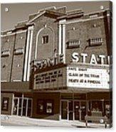 Alpena Michigan - State Theater Acrylic Print