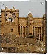 Amber Fort, India Acrylic Print