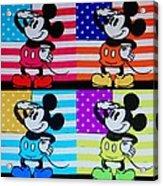 American Mickey Acrylic Print